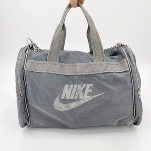 Vintage Nike 80s-90s Swoosh Logo Duffle Gym Bag